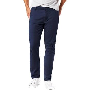 textil Hombre pantalones chinos Dockers ALPHA 4 WAY STRETCH CHINO Azul