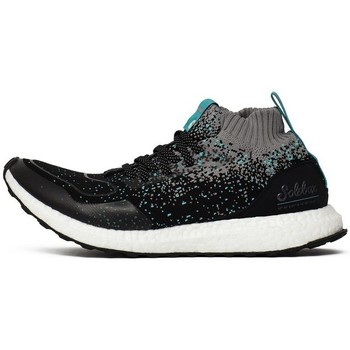 Zapatos Hombre Zapatillas altas adidas Originals Consortium Ultraboost Mid SE X Grises-Negros