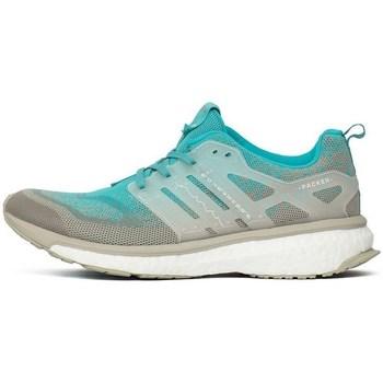 Zapatos Hombre Botas de caña baja adidas Originals Consortium Energy Boost Mid SE X Packer Shoes Solebox Azul turquesa-Gris
