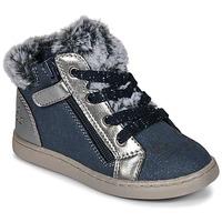 Zapatos Niña Zapatillas altas Mod'8 OUMINOU Marino