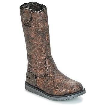Zapatos Niña Botas urbanas Mod'8 ALTANA Negro / Bronce