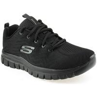 Zapatos Tenis Skechers T Tennis Negro
