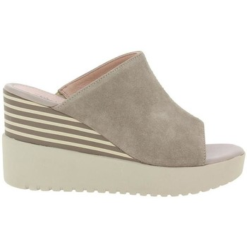 Zapatos Mujer Zuecos (Mules) Stonefly Ely 4 taupe taupe