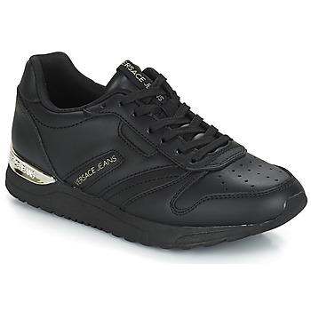 Zapatos Mujer Zapatillas bajas Versace Jeans Couture TAPADO Negro