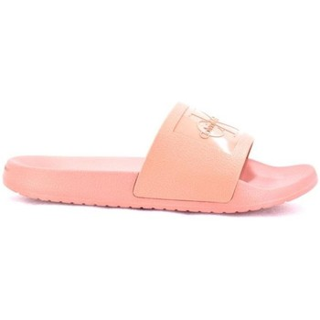 Zapatos Mujer Zuecos (Mules) Calvin Klein Jeans R8837 Christie Dsk Rosa rosa rosa