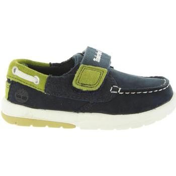 Zapatos Niño Zapatos náuticos Timberland A1BD7 TODDLE Azul