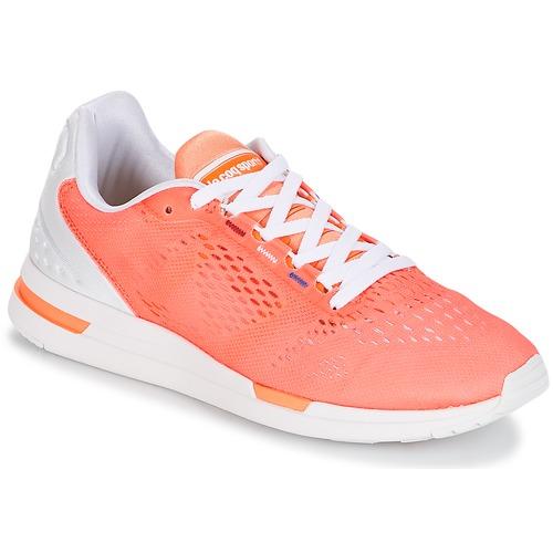 Zapatos casuales salvajes Zapatos especiales Le Coq Sportif LCS R PRO W ENGINEERED MESH Papaya / Punch