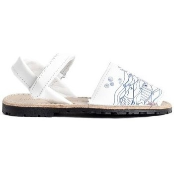 Zapatos Niño Sandalias Colour Feet CASTELL Blanco