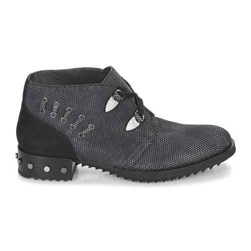 Botas Mam'zelle Negro Mujer Xesto Baja Zapatos Caña De AcqL345jR