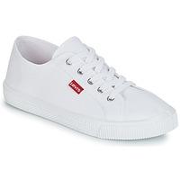 Zapatos Mujer Zapatillas bajas Levi's MALIBU BEACH S Blanco