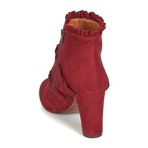 Zapatos Mihara Mujer Botines Chie Kaftan Burdeo SUMVpqzG