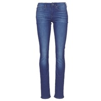textil Mujer vaqueros rectos G-Star Raw MIDGE SADDLE MID STRAIGHT Azul / Medium / Envejecido