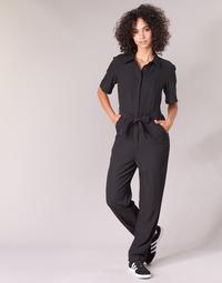 textil Mujer Monos / Petos G-Star Raw BRISTUM DC JUMPSUIT Negro
