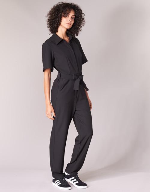 Textil MonosPetos Negro Dc Mujer Bristum Raw G star Jumpsuit 9WHD2IE