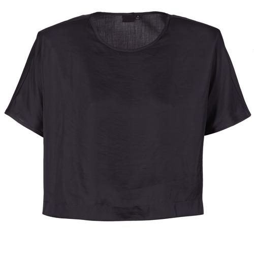 G-Star Raw COLLYDE WOVEN TEE Negro - Envío gratis | ! - textil blusas Mujer