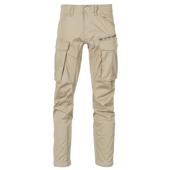 textil Hombre Pantalón cargo G-Star Raw ROVIC ZIP 3D STRAIGHT TAPERED Beige