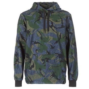 textil Hombre cazadoras G-Star Raw STOR ANORAK OVERSHIRT Azul / Verde