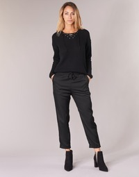 textil Mujer Pantalones fluidos G-Star Raw BRONSON JOG Negro