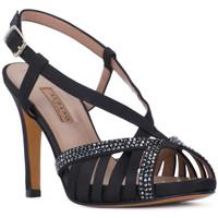 Zapatos Mujer Sandalias Albano RASO NERO Nero