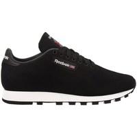 Zapatos Hombre Zapatillas bajas Reebok Sport CL Leather Ultk Negros
