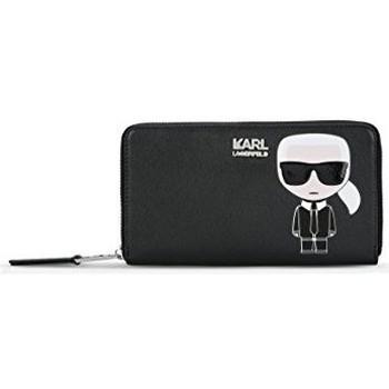 Bolsos Mujer Bolsos Karl Lagerfeld Portafogli  76kw3203 black eco pelle saffiano fw 17/18 Negro