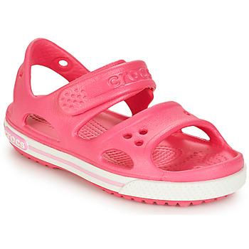 Zapatos Niña Sandalias Crocs CROCBAND II SANDAL PS Rosa
