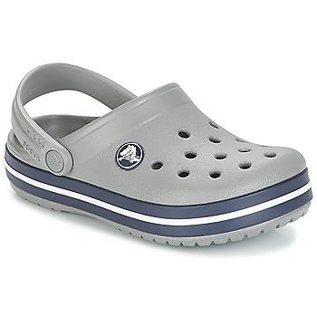 Zapatos Niños Zuecos (Clogs) Crocs CROCBAND CLOG K Gris / Marino