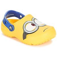 Zapatos Niños Zuecos (Clogs) Crocs CROCS FUNLAB MINIONS CLOG Amarillo
