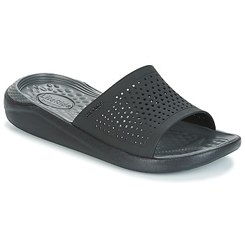 Zapatos Chanclas Crocs LITERIDE SLIDE Negro