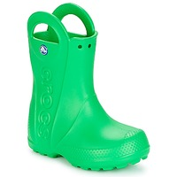 Zapatos Niños Botas de agua Crocs HANDLE IT RAIN BOOT KIDS Verde