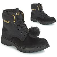 Zapatos Mujer Botines Caterpillar CONVERSION VELVET Negro
