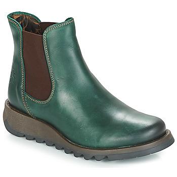 Zapatos Mujer Botas de caña baja Fly London SALV Verde