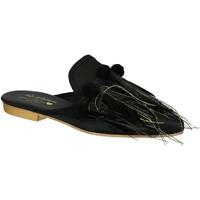 Zapatos Mujer Zuecos (Clogs) Gia Couture VENUS SATIN B nero