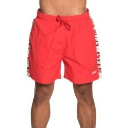 textil Hombre Shorts / Bermudas Grimey MANGUSTA V8 SWIMMING SHORTS RED 8
