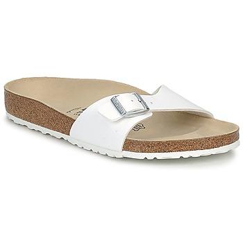 Zapatos Hombre Zuecos (Mules) Birkenstock MADRID Blanco