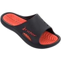 Zapatos Hombre Chanclas Rider Bay Vii Negros-Rojos