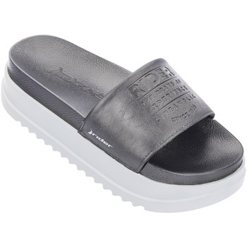 Zapatos Mujer Chanclas Rider Power UP Slide Negro