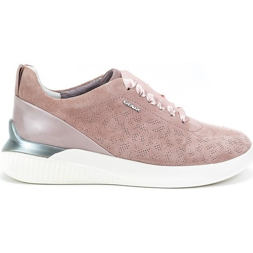 Moda barata y hermosa Geox Theragon Rosa - Zapatos Deportivas bajas Mujer  Rosa