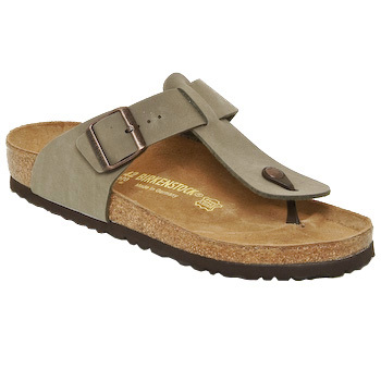 Zapatos Hombre Chanclas Birkenstock MEDINA Beige