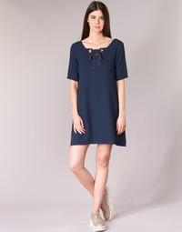 textil Mujer vestidos cortos Betty London HOUNI Marino