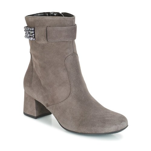 Gespirino Gris Mujer Ara Botines Zapatos wknO8P0