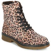 Zapatos Niña Botas de caña baja Bullboxer LANA Leopardo