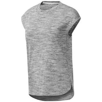 textil Mujer camisetas manga corta Reebok Sport EL Marble Gris