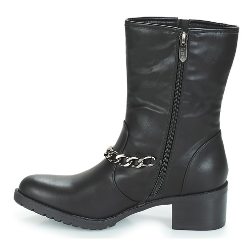 Negro Zapatos Botines Shoes Loanne Mujer Lpb 08kOPXnw