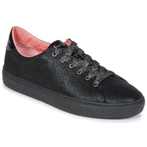 Yellow Mujer Zapatillas Mellow Evalie Zapatos Negro Bajas tQdshr