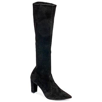 Zapatos Mujer Botas urbanas Perlato JEANY Estirado / Negro