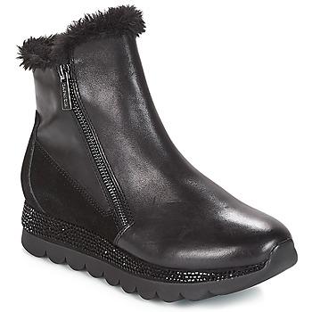 Zapatos Mujer Botas de caña baja Café Noir DEBARO Negro