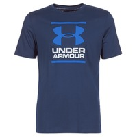 textil Hombre camisetas manga corta Under Armour UA GL FOUNDATION SS T Marino