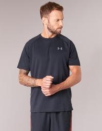 textil Hombre camisetas manga corta Under Armour UA TECH SS TEE Negro