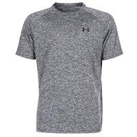 textil Hombre camisetas manga corta Under Armour UA TECH SS TEE Gris